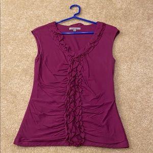 Purple Shirt.